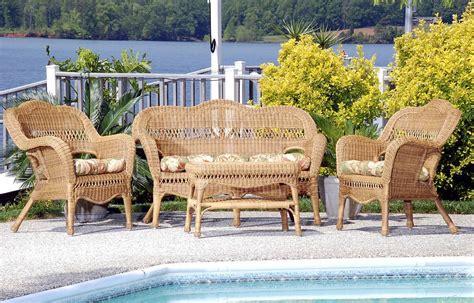 wicker patio set all weather resin wicker furniture set cdi 001 s 4