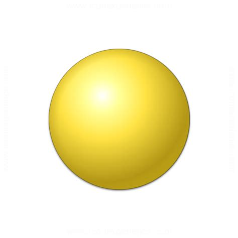 Iconexperience » Vcollection » Bullet Ball Yellow Icon