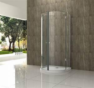 Duschkabine Mit Duschtasse : 100 x 100 u form dusche duschtasse glas duschkabine duschabtrennung runddusche ebay ~ Frokenaadalensverden.com Haus und Dekorationen