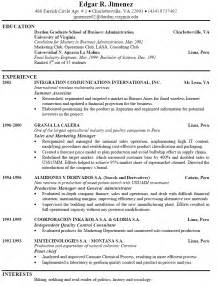resume format download for freshers teachers on call exles of good resumes that get jobs financial samurai
