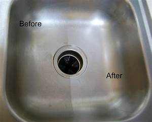 A Stainless Steel Sink Made Shiny and New - Not Just Paper