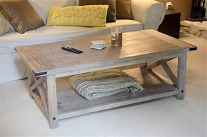 Woodwork Coffee Table Plans Rustic PDF Plans