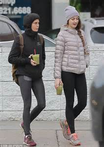 Teri Hatcher Works Out With Daughter Emerson Home From
