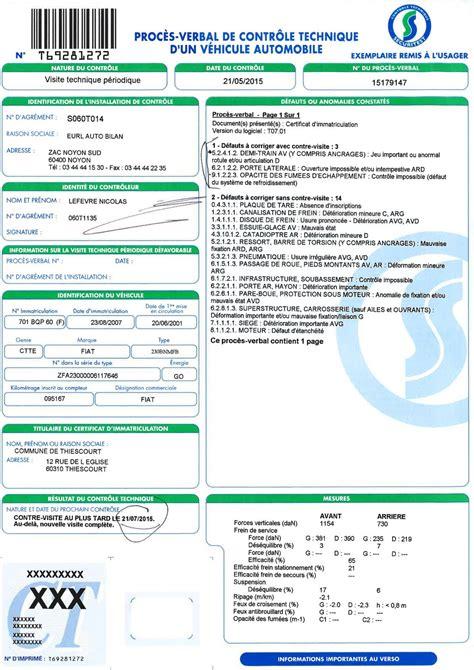 vente voiture controle technique plus de 6 mois document pour carte grise voiture neuve ou d occasion papiers 224 fournir