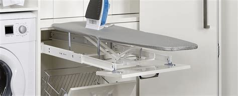 ironing board cabinets in australia kitchen organisation solutions the guys kitchens