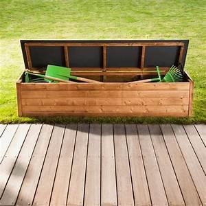 Banc Coffre Bois : banc coffre exterieur bois recherche google balcon deco patio bench et pergola ~ Teatrodelosmanantiales.com Idées de Décoration