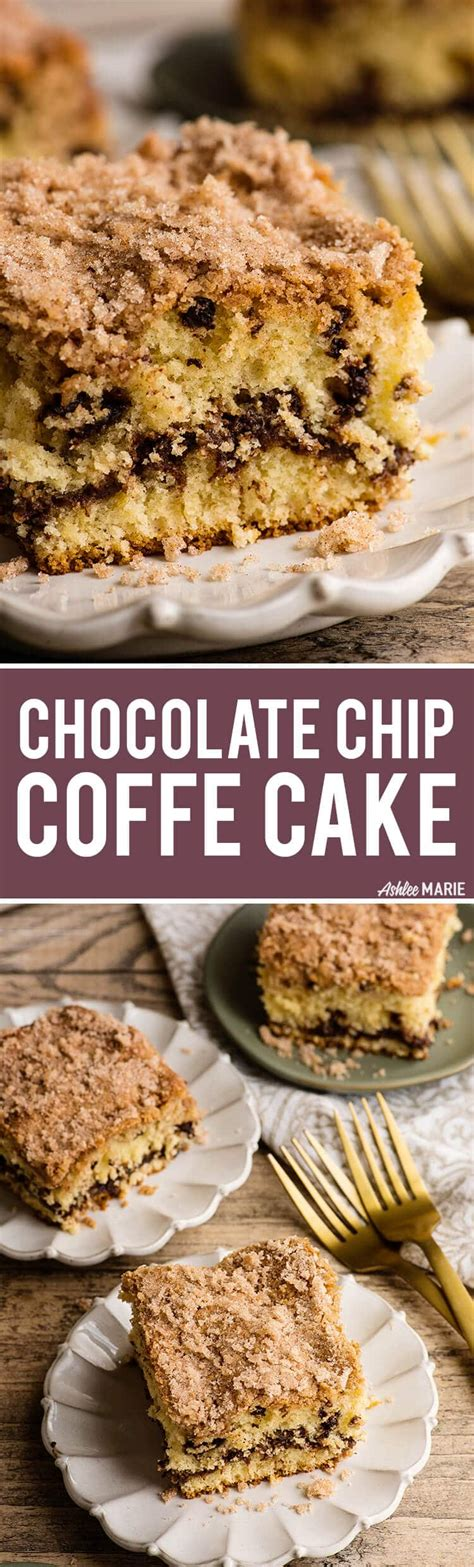 Chocolate chip sour cream coffee cake ~ from smitten kitchen 1/2 cup (114g) unsalted butter. Chocolate Chip Sour Cream Coffee Cake Recipe   Ashlee Marie - real fun with real food