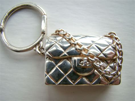 chanel authentic chanel sterling silver quilted handbag