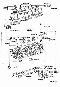 Toyota 4runner Engine Cylinder Head Gasket  Arl