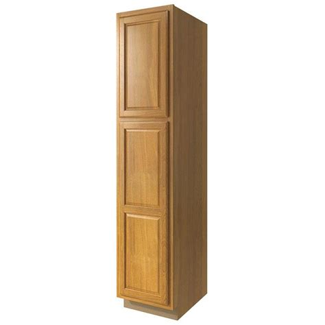pantry storage cabinets with doors shop now portland 24 in w x 84 in h x 23 75 in d