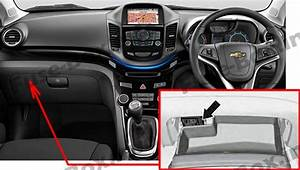 Fuse Box Diagram  U0026gt  Chevrolet Orlando  J309  2011