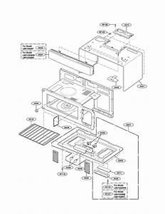 Oven Cavity Parts Diagram  U0026 Parts List For Model Lmv1630ww