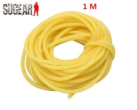 3mm X 5mm Natural Latex Slingshots Rubber Tube 1m Tubing