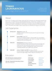 best modern resume templates best resume style for 2013 blackhairstylecuts com