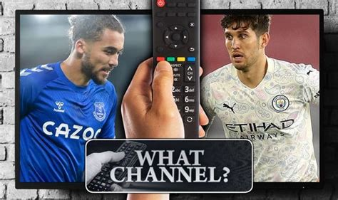 What channel is Everton vs Man City on? TV, live stream ...