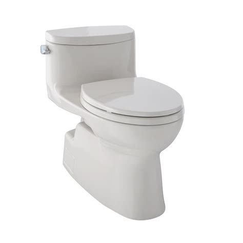 Toto Carolina Ii 1piece 128 Gpf Single Flush Elongated