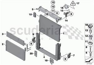 Rolls Royce Ghost Mounting Parts F Radiator Parts