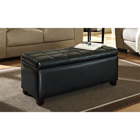 unique  creative tufted leather ottoman coffee table