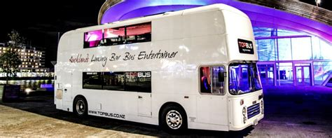 topbus party bus school balls stag  hen corporate