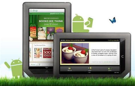 nook color   update version  brings access