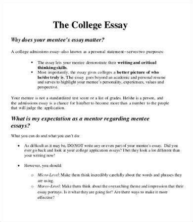 Listed below are links to some term papers that got an a grade last year. College Essay - 9+ Free Samples, Examples, Format Download | Free & Premium Templates