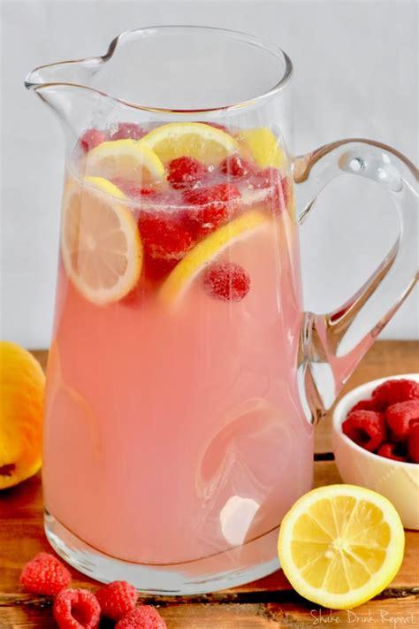 pink lemonade vodka punch shake drink repeat