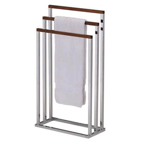 storage organizer towel rack stand bathroom free standing holder portable