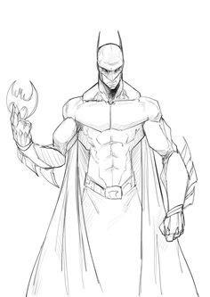 batman drawings batman  art  osmar shotgun fan art