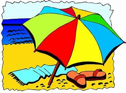 Clipart Summer Beach Clip Vacation Sand Advertisement
