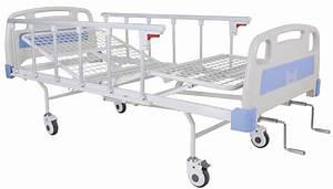 China Two Cranks Manual Hospital Bed  Sk-mb116