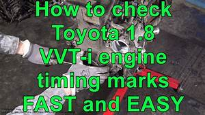 How To Check Toyota 1 8 Vvt