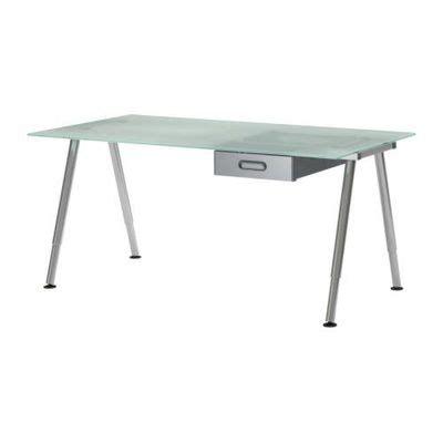 Scrivania Ikea Vetro by Scrivania Galant Con Cassetti Vetro Cromo S09861165