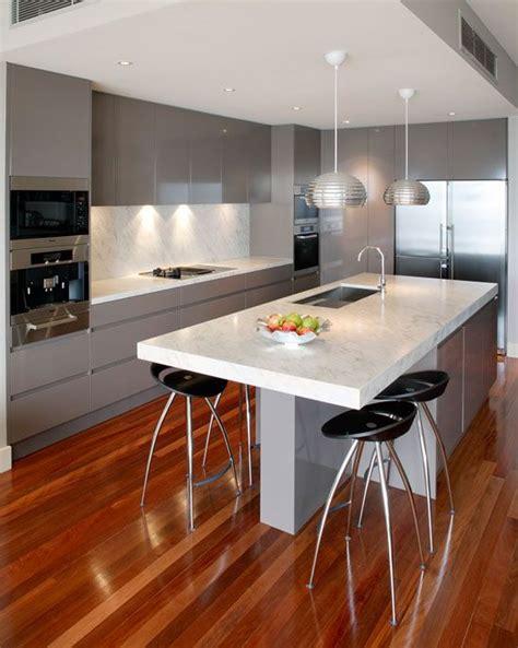 modern kitchen island design best 25 modern kitchens ideas on modern
