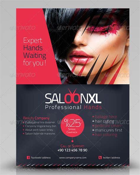 beauty salon flyer templates psd eps ai