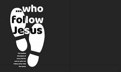 Jesus Sermon Follow Series Easter Passion Week