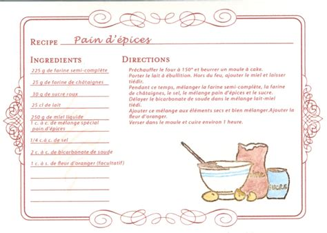 id馥 recette de cuisine exemple de recette de cuisine 28 images davaus modele recette cuisine word avec des id 233 es int 233 ressantes pour la conception de la