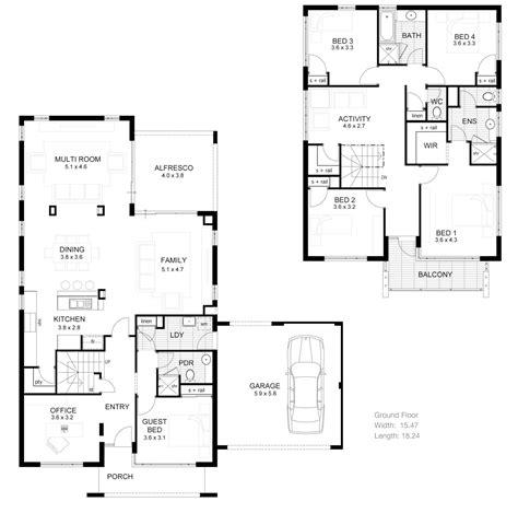 2 house floor plans modern 2 bedroom house plans modern house