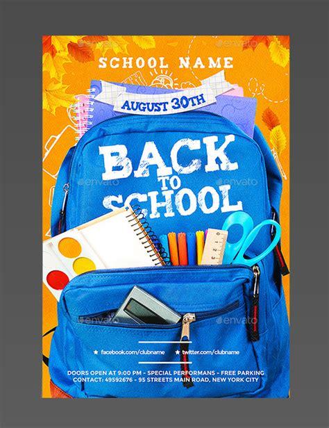 16 Event Brochure Templates Psd Designs Free 16 Free Back To School Flyer Psd Templates Designyep