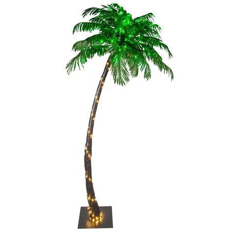 led lighted palm trees lighted palm trees 7 led curved lighted palm tree