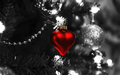 christmas heart widescreen wallpaper wide wallpapersnet