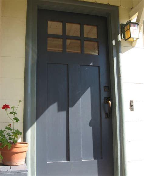 navy blue front door porch san francisco  green