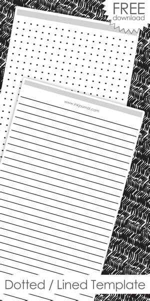 resources  printable templates inkjournal