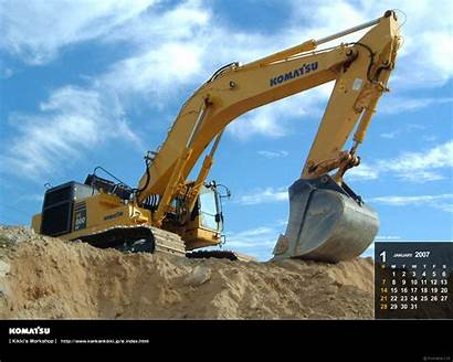 Excavator Komatsu Backgrounds Pc800 Tambang Wallpapers Hp