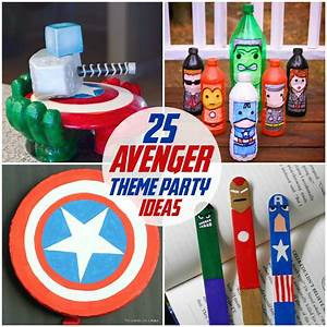 25 avengers party ideas the kids will love kids for These diy party decorations are incredible