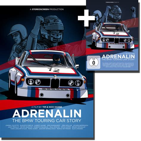 Bmw Posters by Adrenalin The Bmw Touring Car Story Bundle Dvd Poster