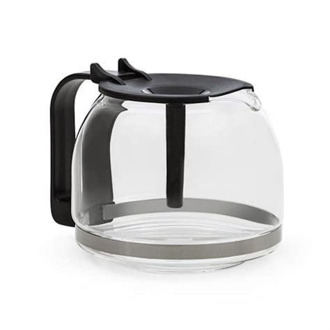 Brewed coffee markings for two to twelve cups. Klarstein Grande Gusto Replacement Coffee Pot with Lid Glass