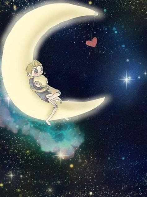 moon hugs pictures   images  facebook