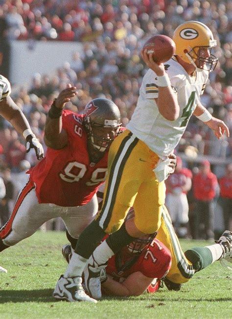 Brett Favre And Warren Sapp 8x10 Photo Green Bay Packers