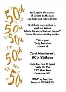 wedding program stationary birthday invitations for 50th party 7039cs pi