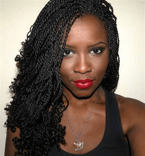Micro Braids Twist Hairstyles by Micro Braids Hairstyles How To Style Pictures